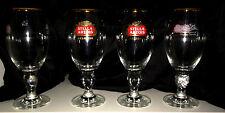 Set of 4 Stella Artois Chalice 40CL Glasses Beer Pub Bar Pint glass Brand New