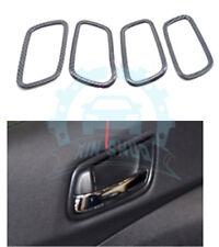 4x For Honda CRV CR-V 2012-16 Carbon Fiber Internal Door Handle Box Covers uy