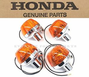 New Genuine Honda Turn Signals CB175 350F 500K 750K Front Rear (See Notes) #A10