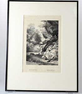 Antique Print BATU Gantung MALUKU ISLANDS AMBON INDONESIA Buffa Amsterdam 1844