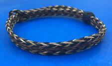 Western Jewelry Horse Hair Boot Bracelet Black/Sorrel