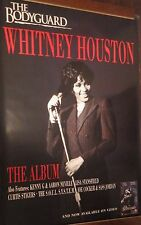 "50x70"" Huge Movie Subway Poster~Whitney Houston 1992 The Bodyguard Original Nos~"