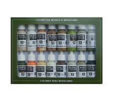 Vallejo 70141 Earth Model Color Tierra Set 17ml nuevo new
