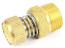 """3/8"""" NPT Adjustable Spring Pneumatic Silencer Brass Flow Muffler Exhaust Valve"""