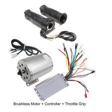 1800W Brushless Electric Motor Controller Throttle Grip for ATV Go Kart e-Bike