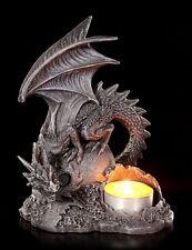 Dragons Porte-bougies GAUCHE - Gothique Chandelier Figurine fantasie