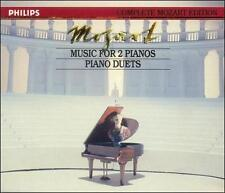 Mozart: Music for 2 Pianos; Piano Duets (CD, Apr-1991, 2 Discs, Philips) vol.16