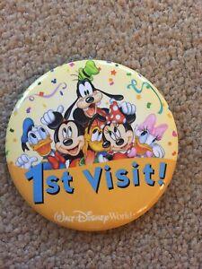 Walt Disney World 1st Visit Badge/Pin