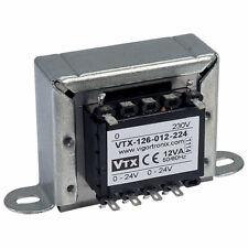 Vigortronix VTX-126-012-224 Chassis Transformer 230V 12VA 24V+24V