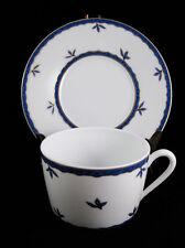 Limoges France Medard De Noblat Merida Bleu Cup And Saucer Set