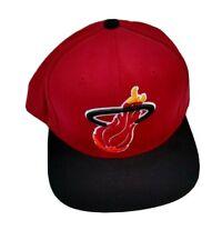 NBA Miami Heat Red Snapback Hat
