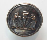 19th Century Livery Button Wolf paws & Thistle Firmin And Sons london 23 mm