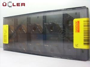 10 X Sandvik Dnmg 150608-MF 4335 Plaquettes de Coupe Plaquettes en Carbure