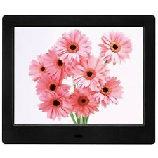 MRQ 8 Inch Digital Photo Frame Display Photos with Background Music 1080P... New