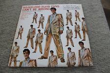 "ELVIS PRESLEY (VG) 1964 50,000,000 Elvis Fans Can't Be Wrong (VG+) 12"" RCA LP"
