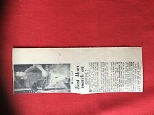 m2G ephemera 1974 football report highfield 0 east ham 3 alan ford driscoll tony
