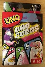 MATTEL ~ UNO ~ UNOCORNS Card Game ~ Ages 7+ ~ NEW