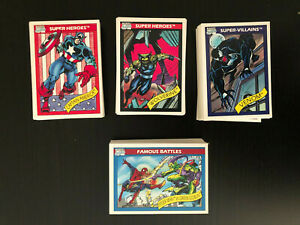 1990 Marvel Universe Series 1 COMPLETE BASE SET (1-162) Near Mint