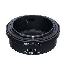 FD-NEX Mount Adapter for Canon FD Lens to Sony NEX Camera NEX-5N A7R2 A7 VG900E
