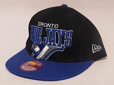 New Era TORONTO BLUEJAYS Snap-Back 9Fifty MLB Cap/Hat - Black/Blue