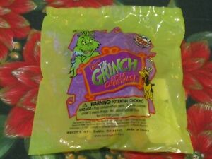 NIP~WENDY'S KIDS MEAL TOY~DR. SEUSS~HOW THE GRINCH STOLE CHRISTMAS~MAX ORNAMENT~