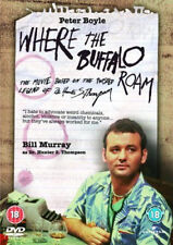 WHERE THE BUFFALO ROAM 1980 PETER BOYLE BILL MURRAY UNIVERSAL UK REGION2 DVD NEW