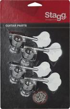 Mécaniques pour Guitare Western 3 + 3 avec Lyre , Nickel , Livré par Deux