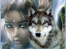 HOWLING WOLF/WOLVES INSPIRED MUSIC CD & NATIVE AMERICAN, RELAXATION & MEDITATION