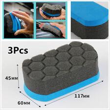 3Pcs/Set Applicator Polishing Pad For Car Wax Buff Removing Swirl Mark Scratches