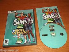 THE SIMS 2 Bon Voyage-pacchetto di espansione PC-DVD Post veloce