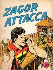 ZAGOR ZENITH ORIGINALE PRIMA EDIZIONE NUMERO 78
