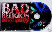 BAD RELIGION Honest Goodbye Dutch promo test press CD