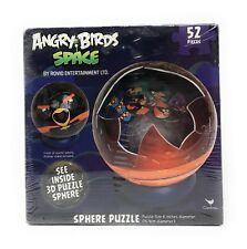 ANGRY BIRDS SPACE Sphere 3D Puzzle - 52 Piece - Rovio Entertainment - New