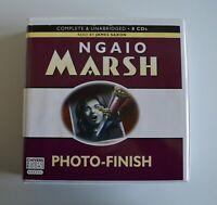 Photo-Finish: Ngaio Marsh - Unabridged Audio Book - 8CDs - Chivers