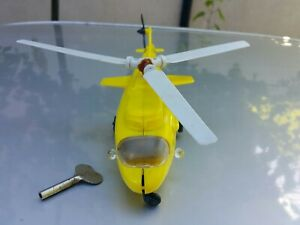 VINTAGE HELICOPTER TOY IGRA ITES WIND UP MECHANISM CZECHOSLOVAKIA KEY WORKS