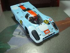 Slot Car FLY 99113 PORSCHE 917K GULF ARGENTINA 1971 Compatible 1/32 Scalextric