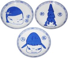 YOSHITOMO NARA Life is Only One Plates (Set of Three), 2015 Hong Kong