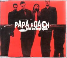 PAPA ROACH - TIME AND TIME AGAIN - RARE PROMO CD SINGLE - MINT