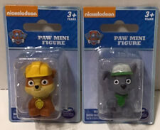 NEW Nickelodeon PAW Patrol RUBBLE & ROCKY Mini Figure
