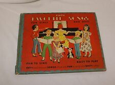 Fifty Favorite Songs For Girls and Boys Janet Laura Scott Mary Nancy Graham 1935