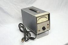 HP 400EL Hewlett Packard AC Voltmeter for Audio Linear DB Scale HP400EL