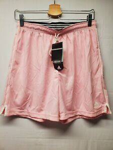 Adidas W SIS SO TR Women's Large Diva Pink and White Soccer Athletic Shorts
