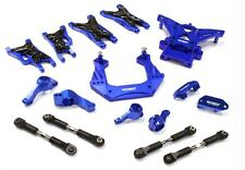 Integy Billet Machined Suspension Kit for Traxxas 1/10 Nitro Slash 2WD Blue