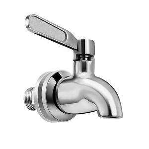 Vila Beverage Dispenser Replacement Spigot, Stainless Steel Rust-free Spout, ...