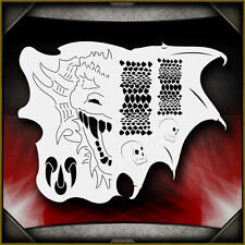 """Dragon Master"" Airbrush Stencil Template Airsick"