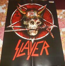 Slayer / Cradle of Filth - Rare Magazine Maxi Poster (A2)