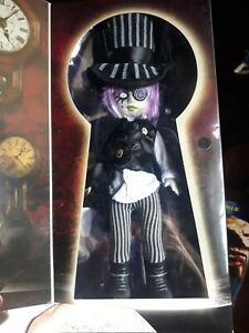 LIVING DEAD DOLL ALICE IN WONDERLAND SYBIL AS MAD HATTER SEALED MIP MEZCO TOYS