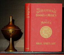 OCCULT SIXTH SEVENTH BOOK MOSES GRIMOIRE MAGIC MASONIC KABALA DE LAURENCE HEBREW