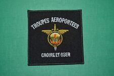 insigne militaire patch armée écusson Troupes Aéroportées Parachutistes SAS