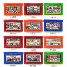 GBA  Video Game Boy Advance GBA SP Pokemon Mario Zelda Mega Man collection
